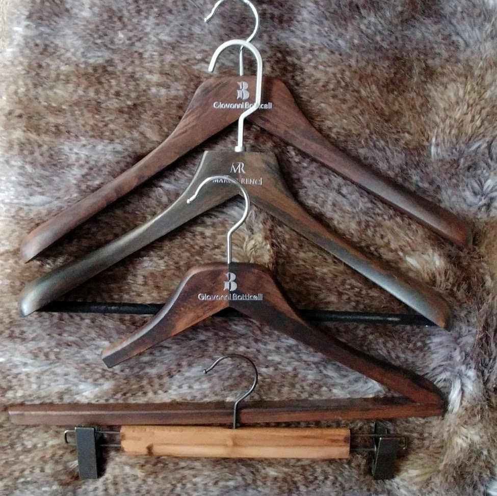 Irene-Luxury Wooden Hangers