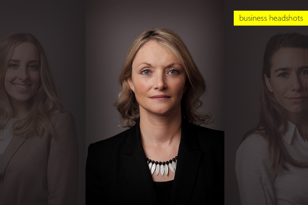 Corporate headshot photographer London