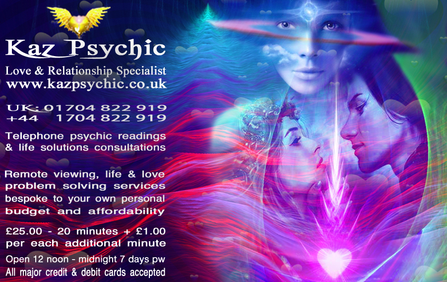 Kaz-Psychic-Eternal-Flame-Text-Picture-Ad-October-2018