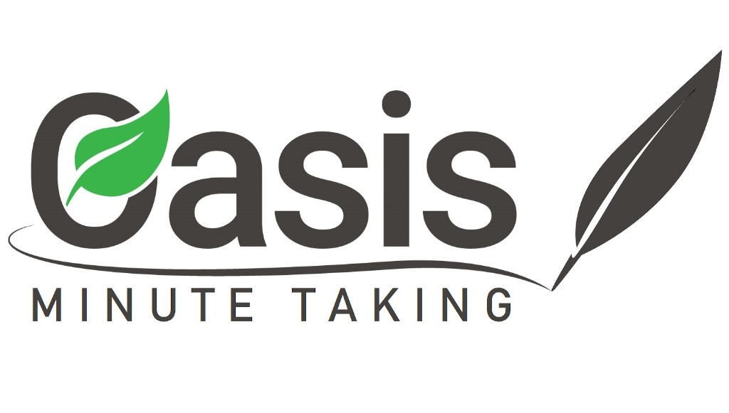 Oasis Minute Taking